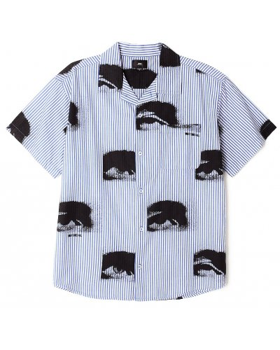 OBEY SEES ALL WOVEN SHIRT