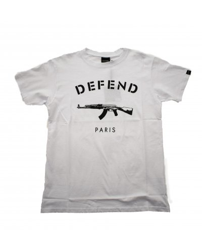 DEFEND PARIS PARIS TEE WHITE