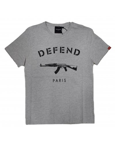 DFEND PARIS PARIS TEE GREY