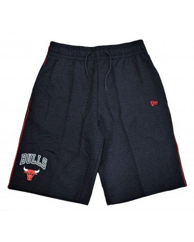 NEW ERA NEW ERA Short Jogging NBA Chicago Bulls Piping  Gris Anthracite Chiné