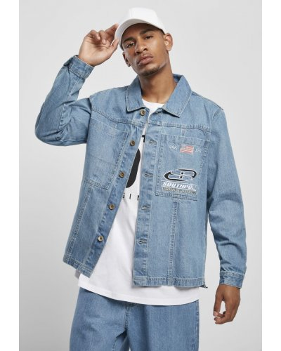 Southpole Denim Jacket Shirt