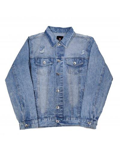 SOUTHPOLE CLOTHING BASIC TRUCKER JACKET SAND BLUE