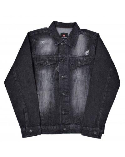 SOUTHPOLE CLOTHING BASIC TRUCKER JACKET BLACK