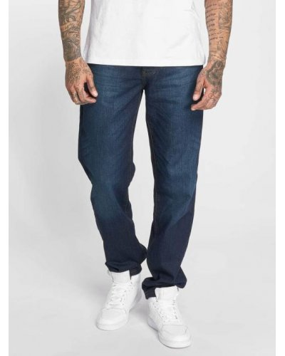 THUG LIFE DENIM CARROT FIT JEAN MID BLUE